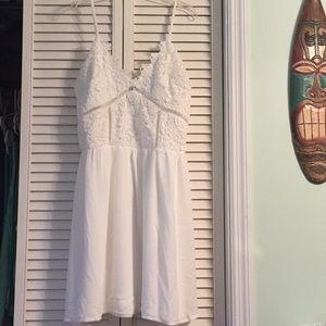 White Lace Dress L